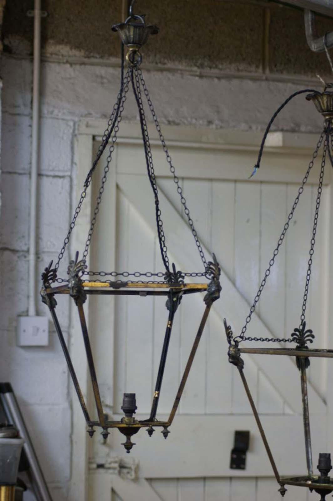 Antique metals making - Make hanging lanterns ...