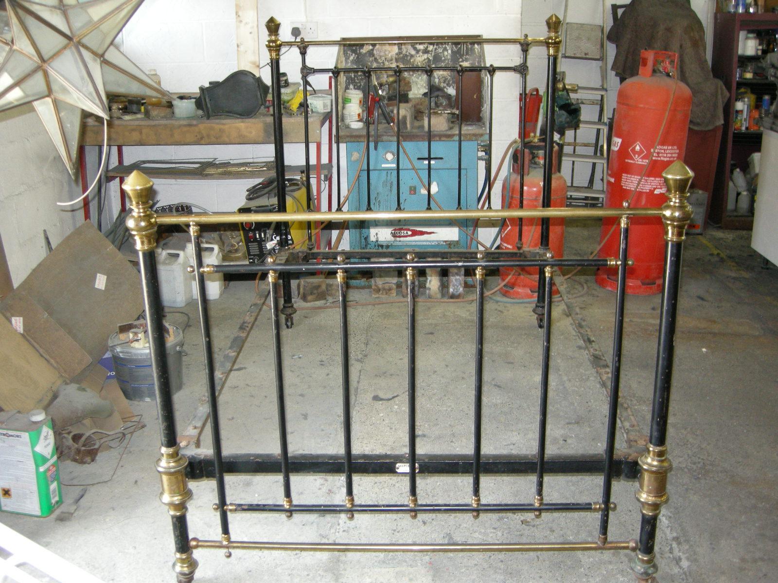 Antique Metals Brass Amp Iron Bed Restoration Amp Repair