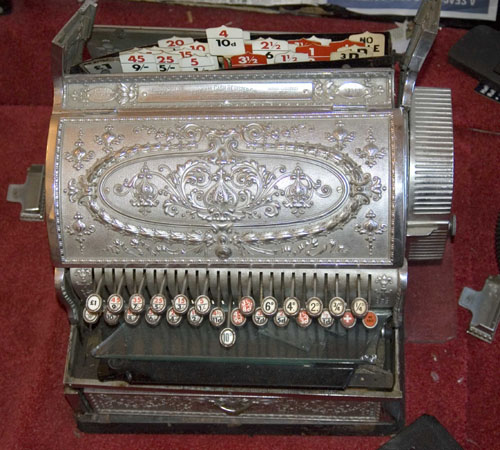 National Cash Register before restoraion