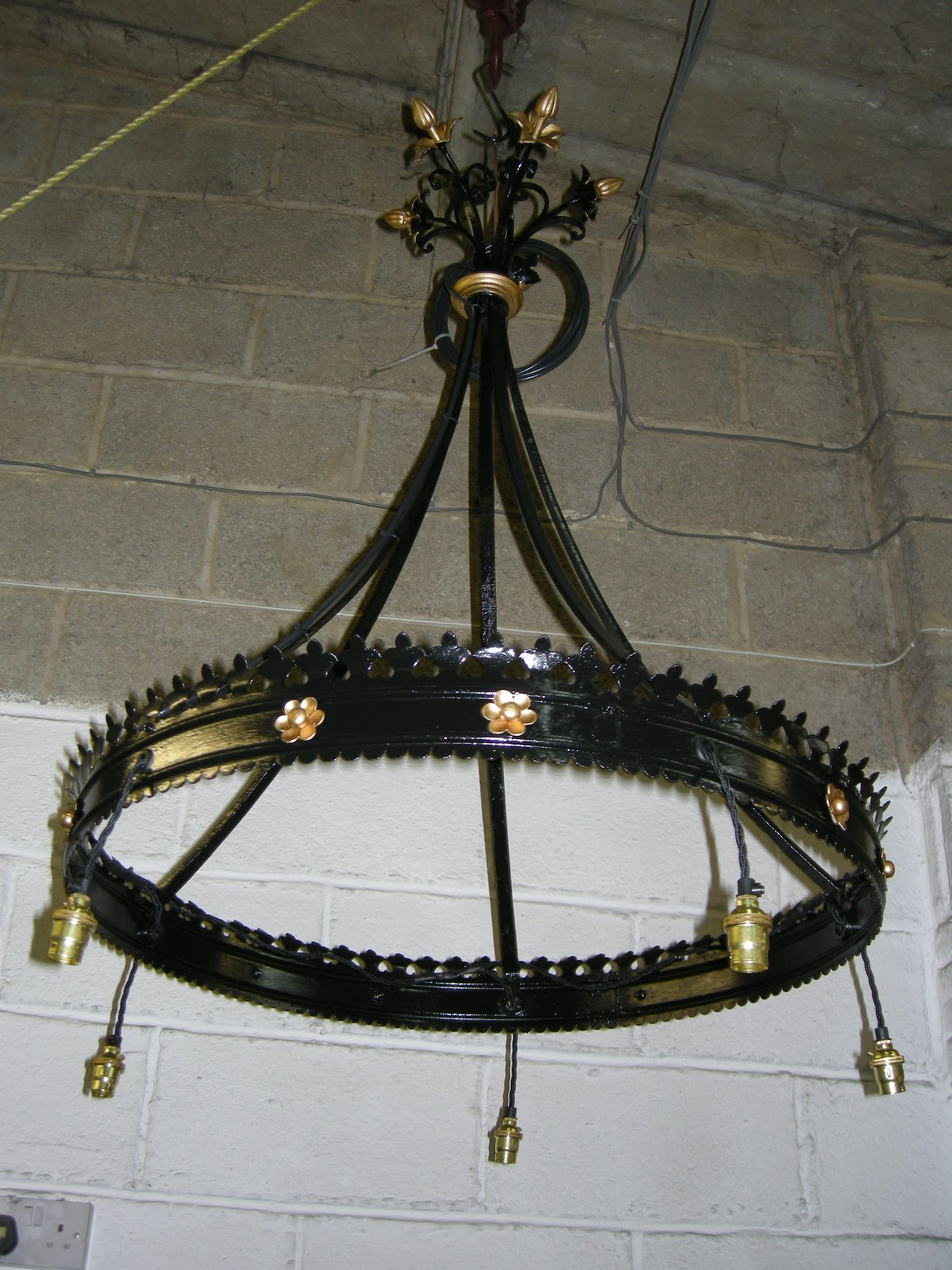 Antique Metals Chandelier Repairs Restoration Cleaning And Rewiring Chandeliers Before After